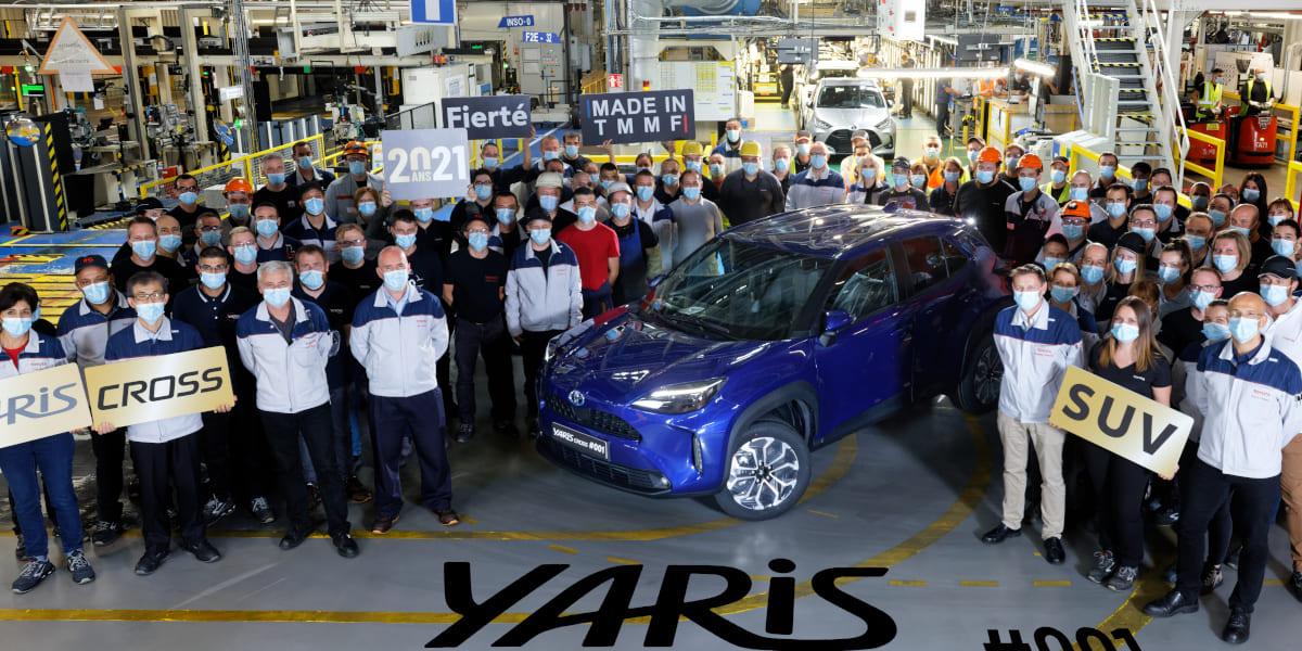 Toyota Yaris Cross: Startschuss für die Produktion gefallen