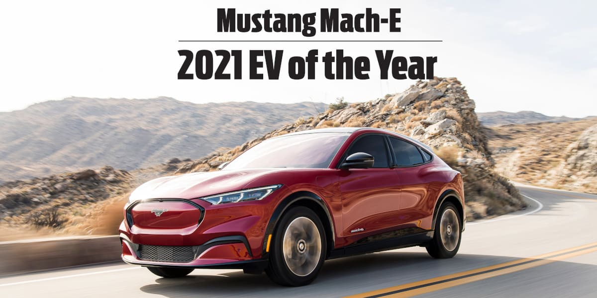 Ford Mustang Mach-E: Sieg beim Electric Vehicle of the Year Award 2021