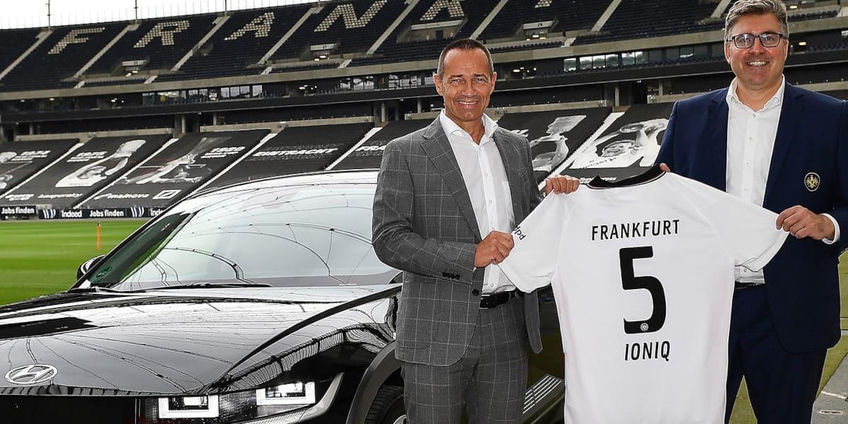 Eintracht Frankfurt spart mit Hyundai CO2 ein