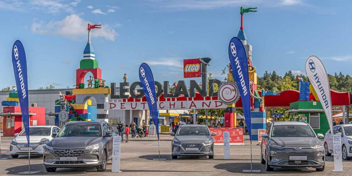 Hyundai verlost 10.000 Tickets fürs Legoland Deutschland