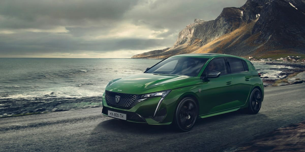 Peugeot 308: Neues Firmenlogo erstmals in Serie