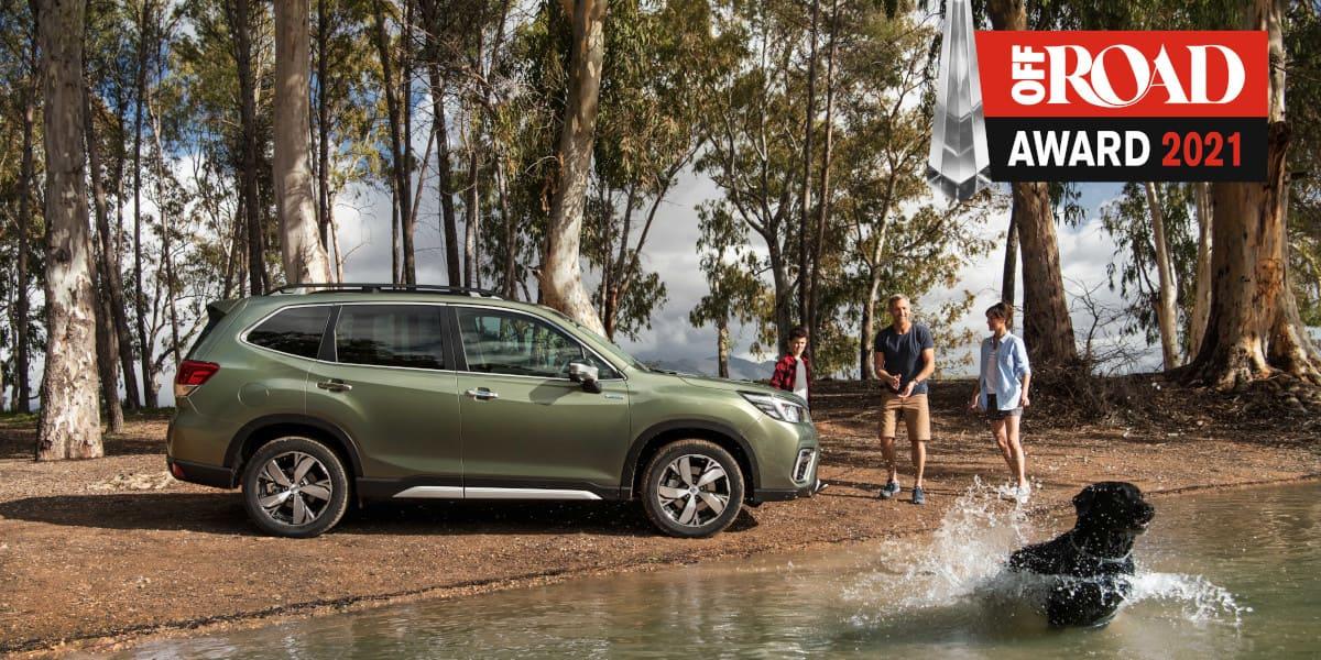Subaru Forester sichert sich Off Road Award 2021