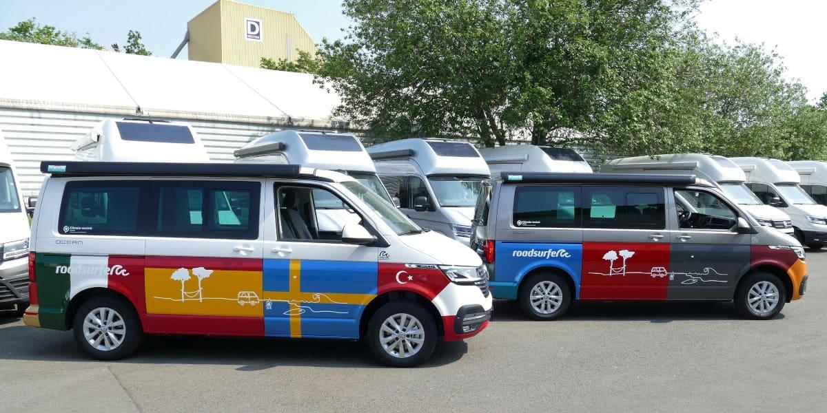 VW California 6.1: Campervan im farbenfrohen Kleid