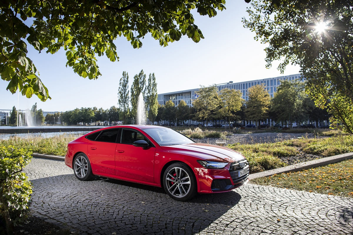 Audi A7 Sportback TFSI e 2021 im Test: ausdauerndere Plug-in-Hybride fürs Edel-Coupe