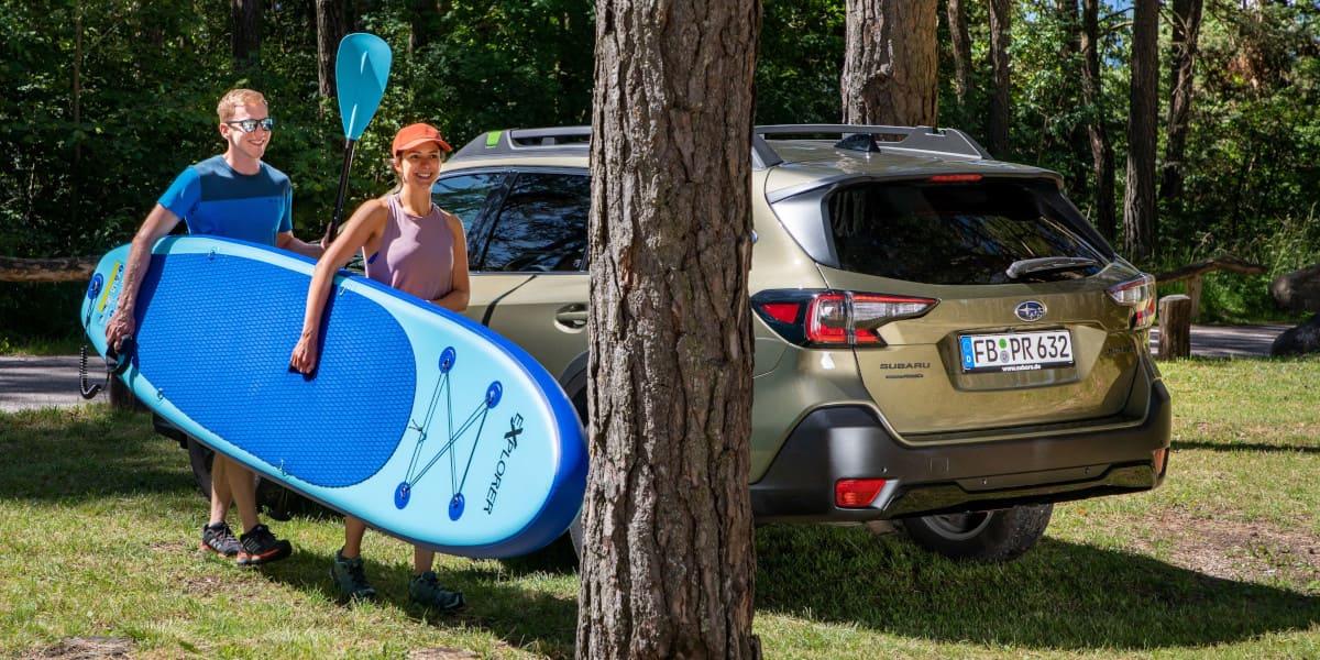 Robuster Reisebegleiter: der Subaru Outback Exclusive Cross