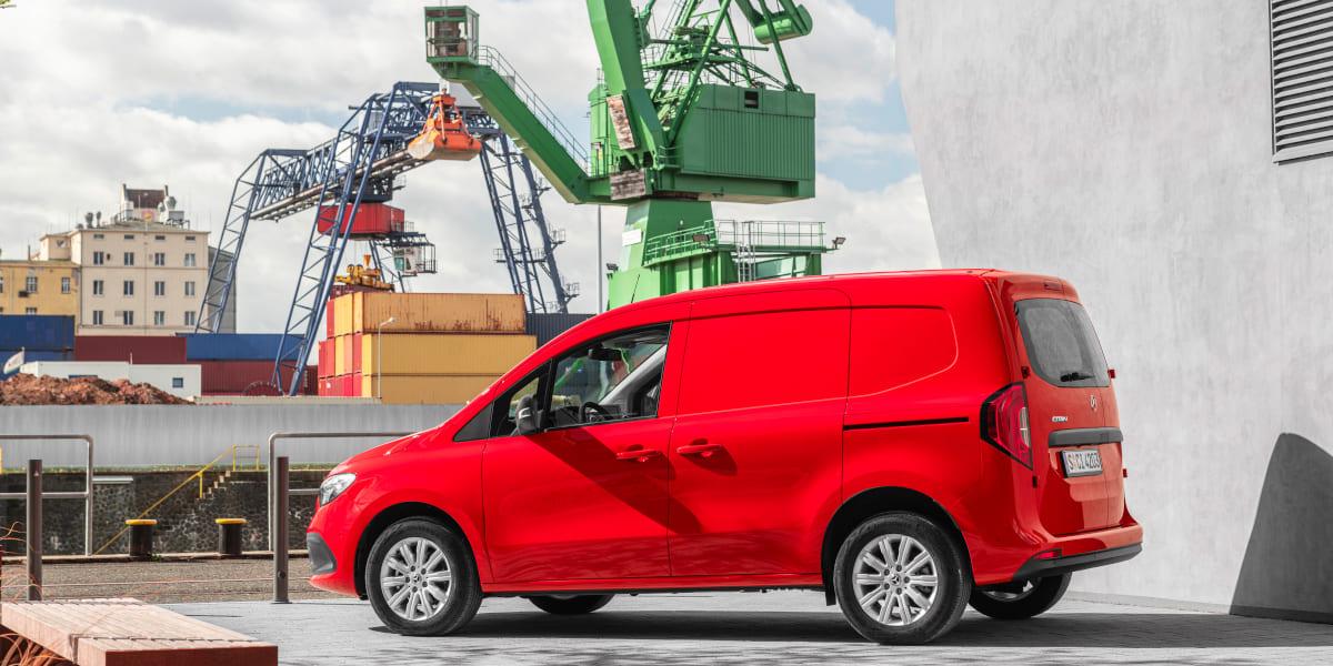 Mercedes-Benz Citan: Small Van mit großem Platzangebot