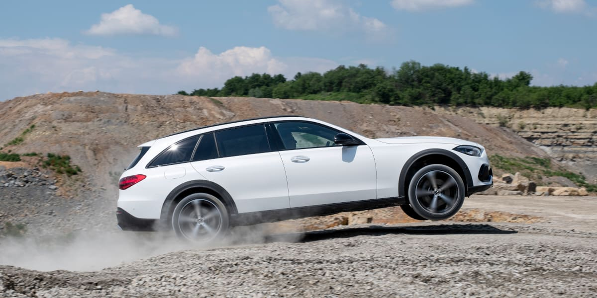 Mercedes C-Klasse: Neues T-Modell als All-Terrain