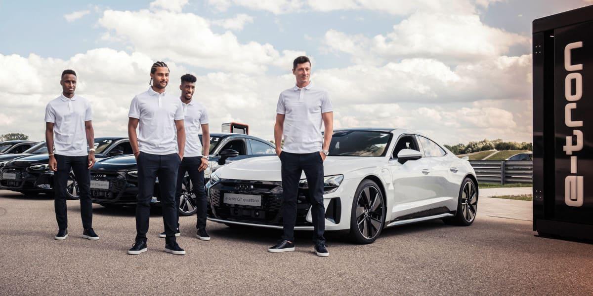 Audi e-tron GT: Der neue Dienstwagen der Bayern-Profis