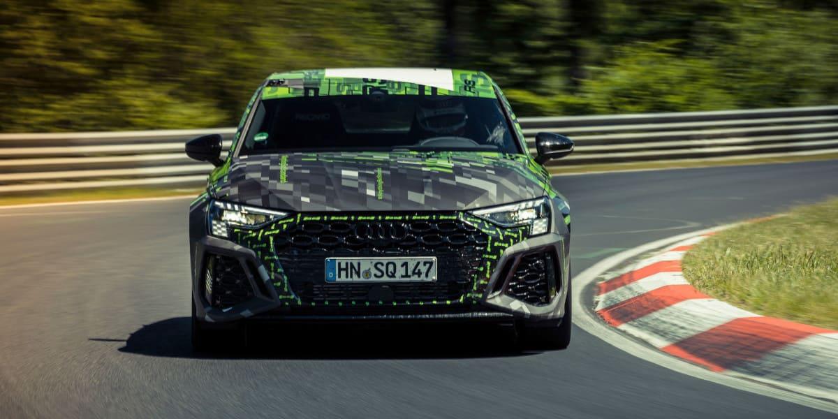 Audi RS 3: Rekordzeit auf der Nordschleife