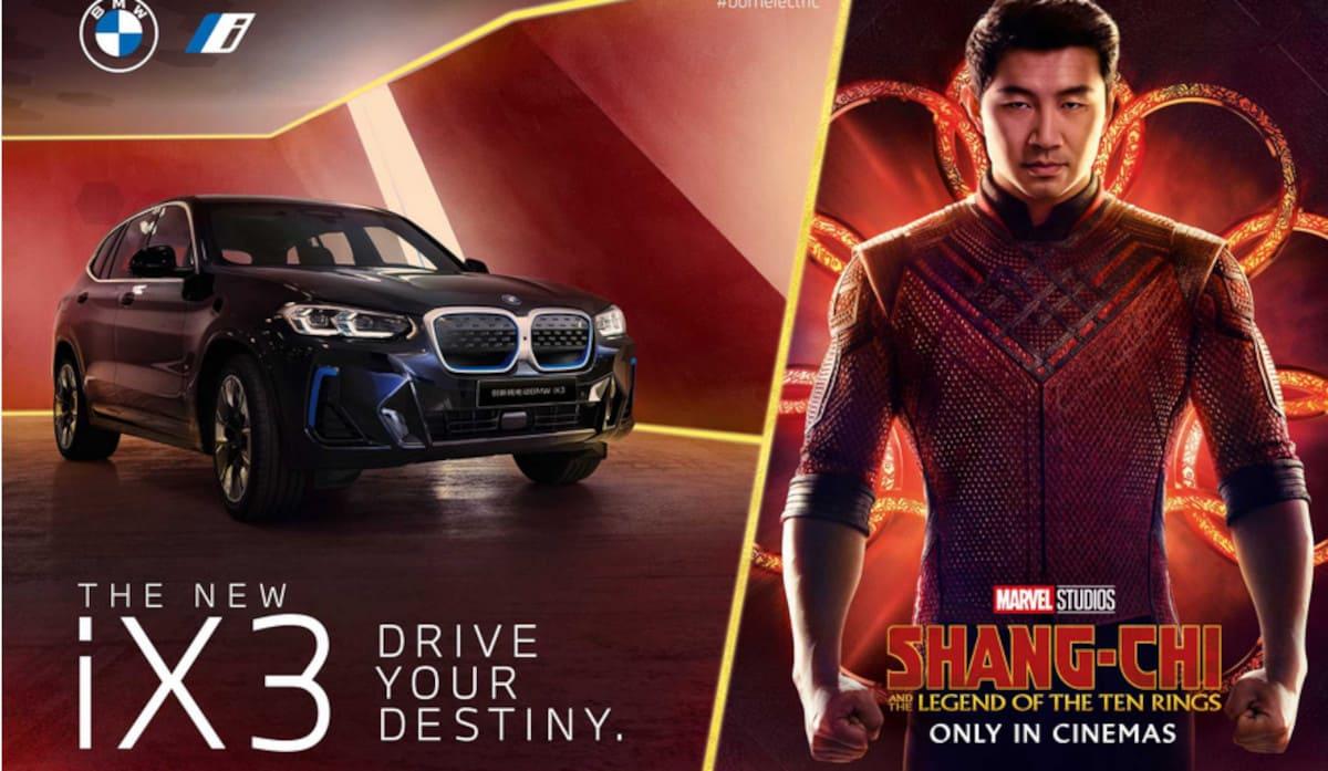 BMW iX3: Filmreifer Auftritt im neuen Marvel-Streifen