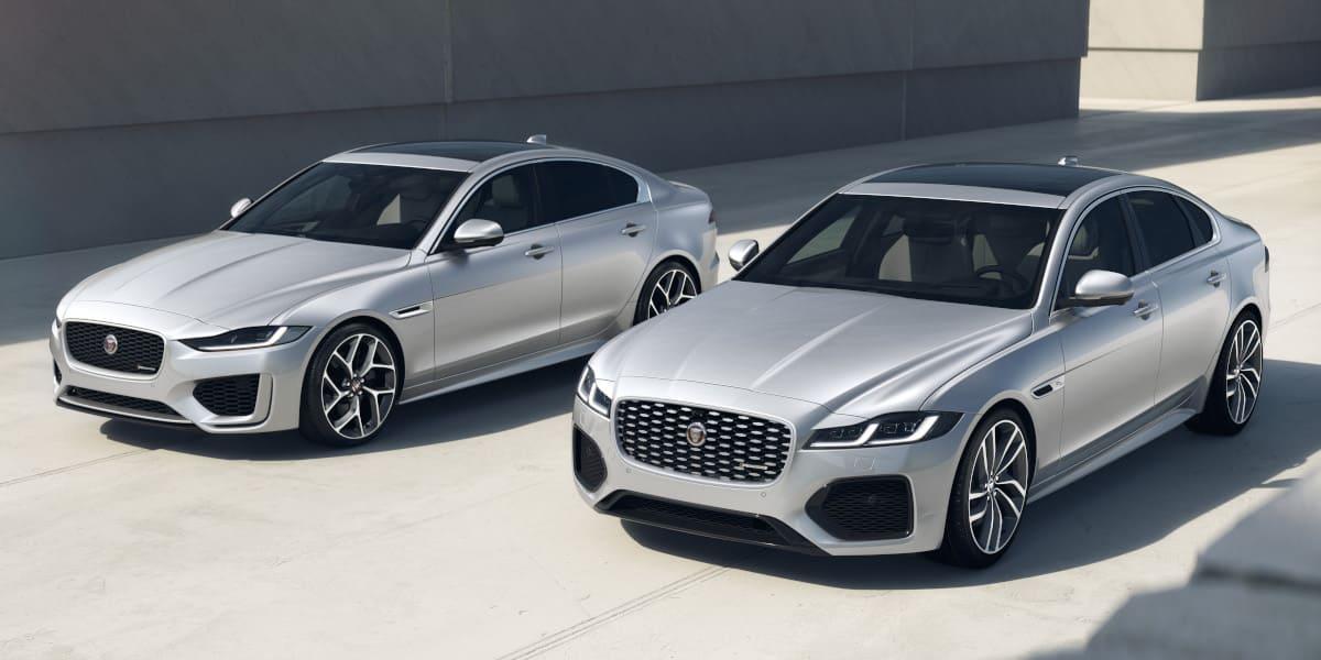 Jaguar: Neue Dynamic Black Modelle für den XF und XE