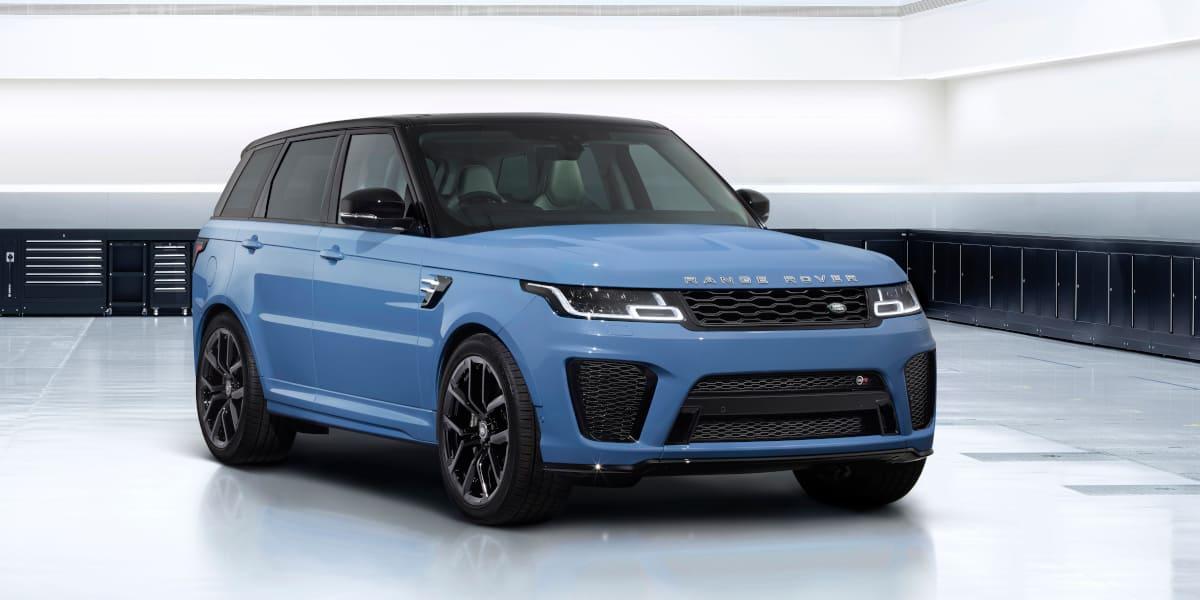 Range Rover Sport SVR: Frische Farben für die Ultimate Edition