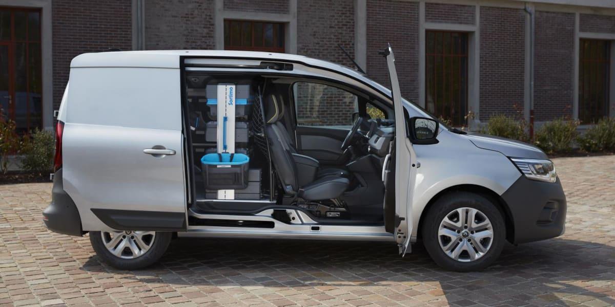 Renault Kangoo Rapid: Beladen ohne B-Säule