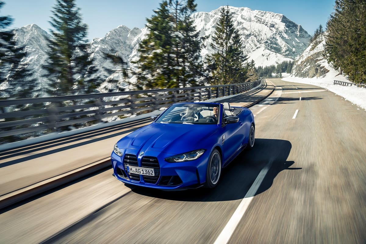 BMW M4 Cabrio 2021 (Test): 4-türiges Mittelklasse-Cabrio als Hochleistungs-Sportwagen