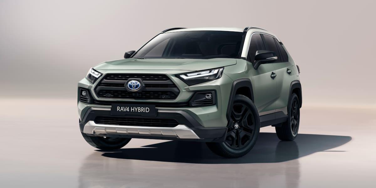 Toyota RAV4 Adventure: Neu gestaltete Front und Zweifarblackierung