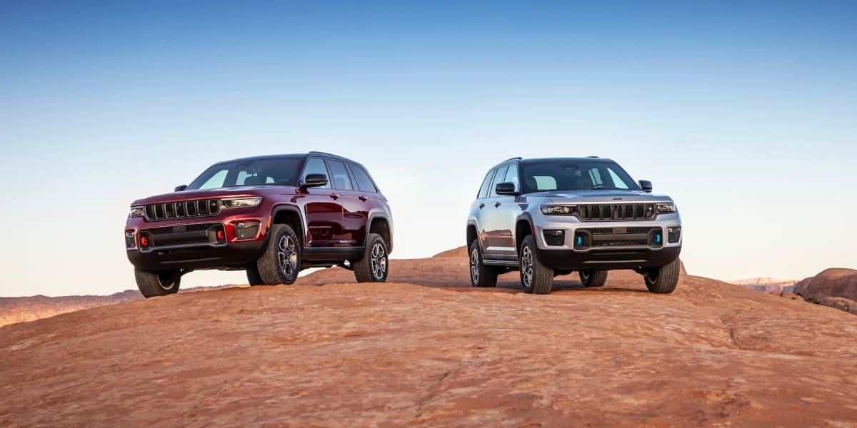 Jeep Grand Cherokee: Luxusgeländewagen erstmals unter Strom
