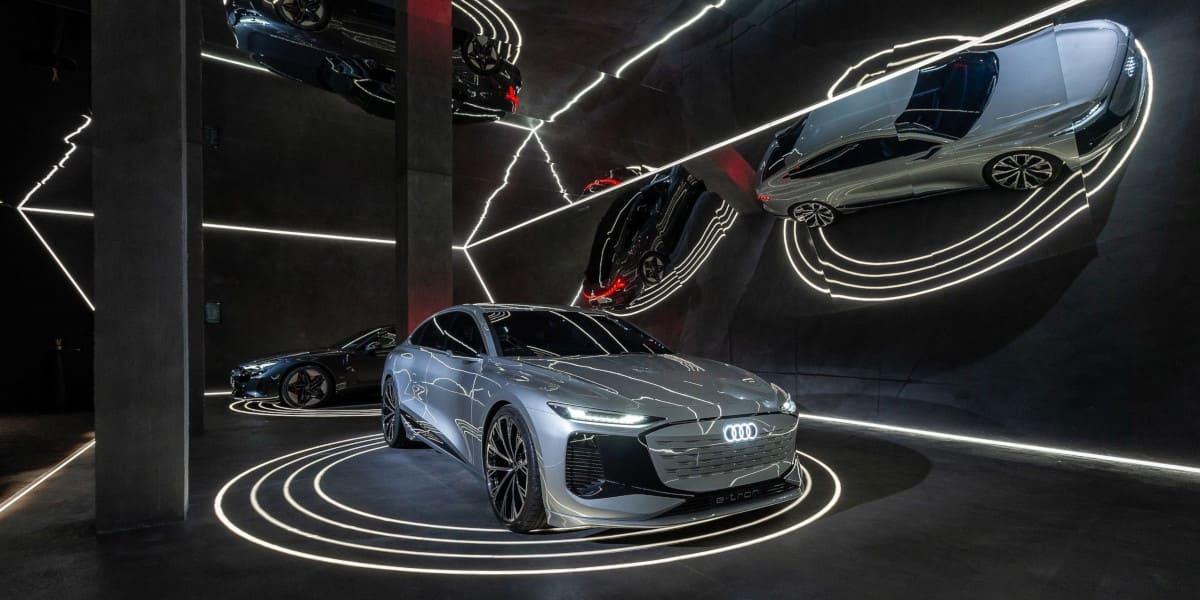 Audi A6 e-tron: Konzeptauto auf der Milan Design Week