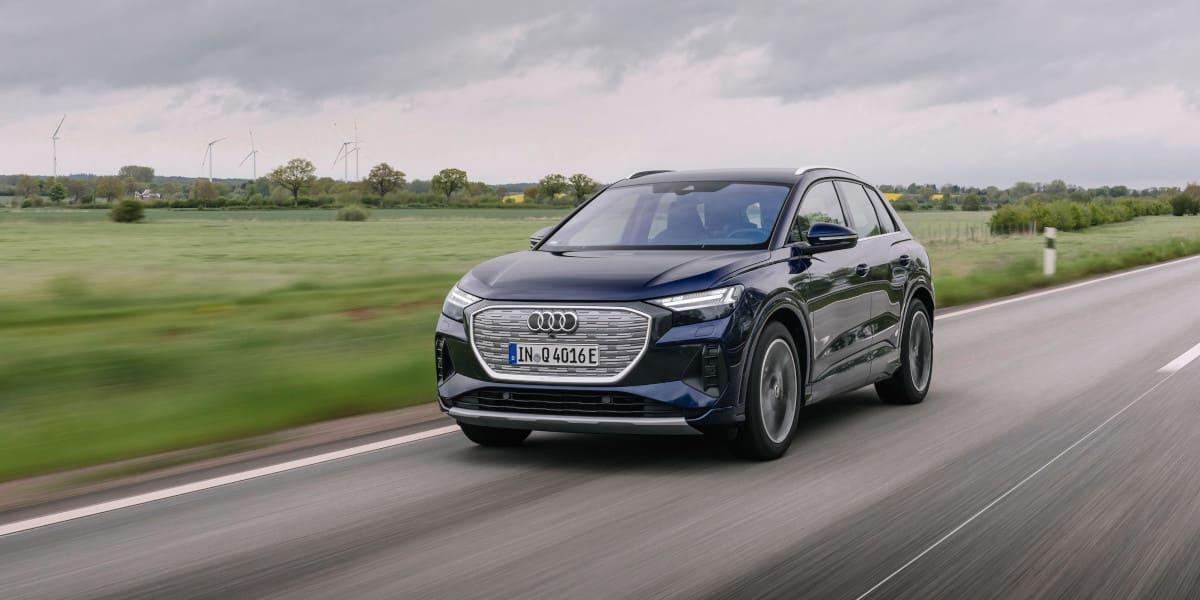 Audi Q4 e-tron räumt mit Vorurteilen gegenüber E-Mobilität auf