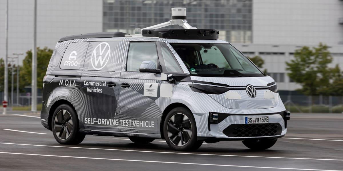 Volkswagen ID.BUZZ: Prototyp für das autonome Fahren
