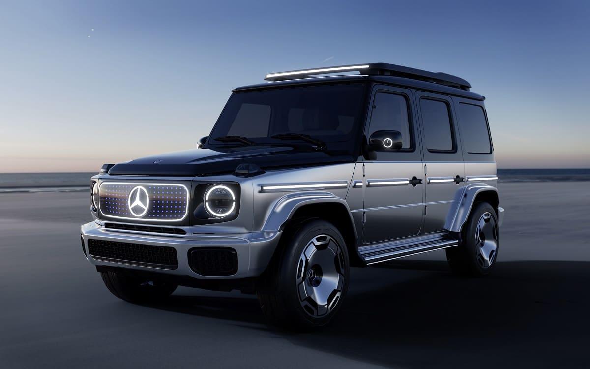 Die Mercedes G-Klasse wird elektrisch