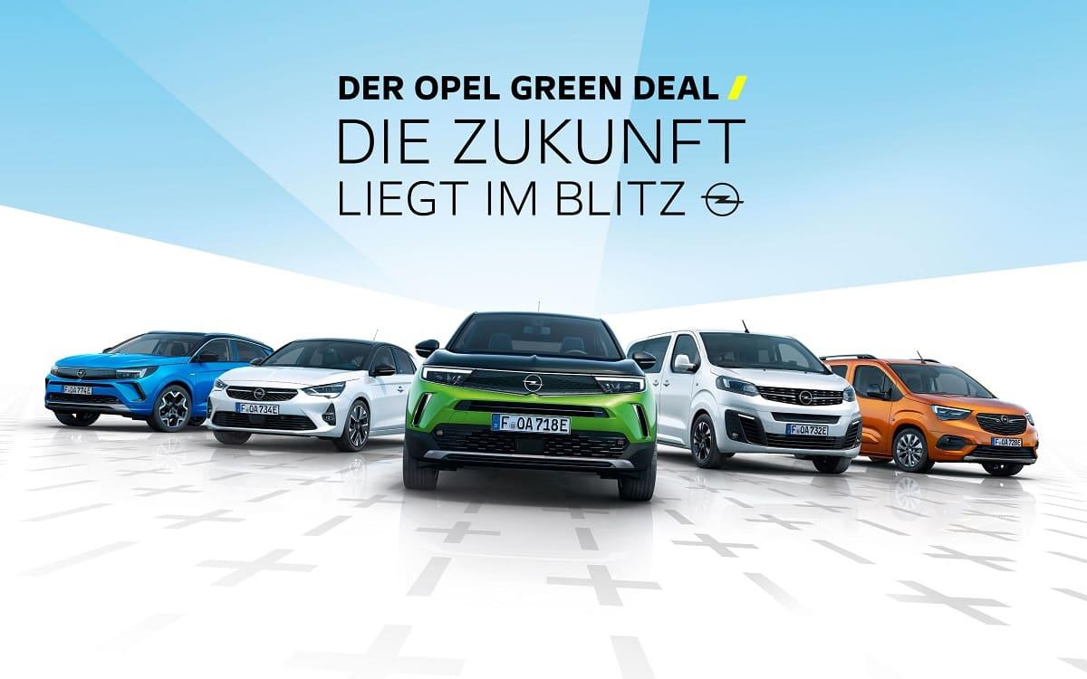 Opels Elektro-Offensive: Green-Deal-Kampagne