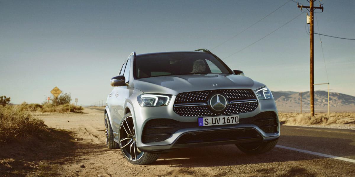 Mercedes-Benz: GLE jetzt auch als Diesel-Mildhybrid