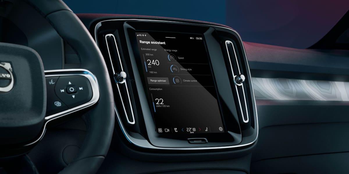 Volvo: Mehr Reichweite dank Range Assistant App