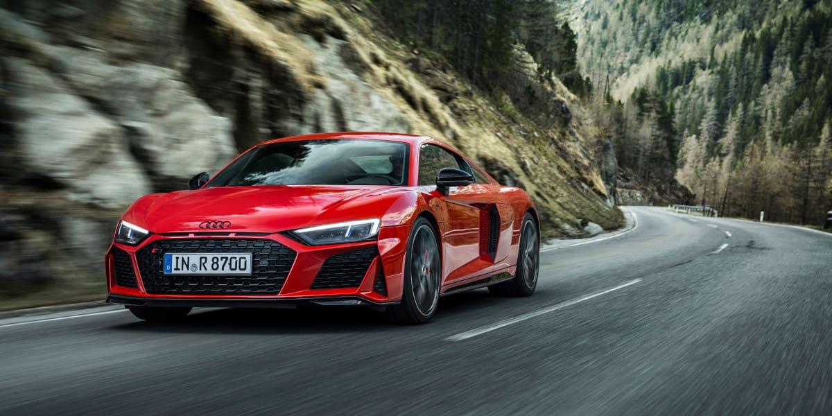 Audi R8 V10: Kontrollierte Drifts mit 570 PS