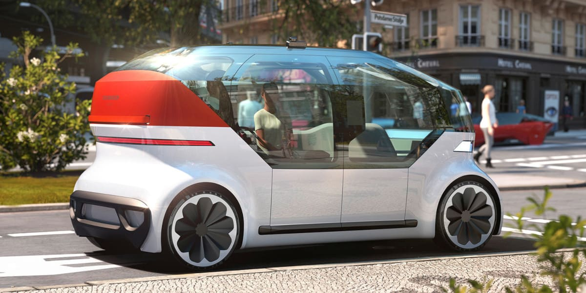 VW OnePod: Neue Konzeptstudie für urbane Mobilität