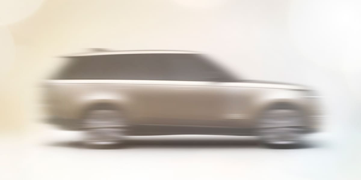 Neuer Range Rover: Land Rover deutet Design des Luxus-SUV an