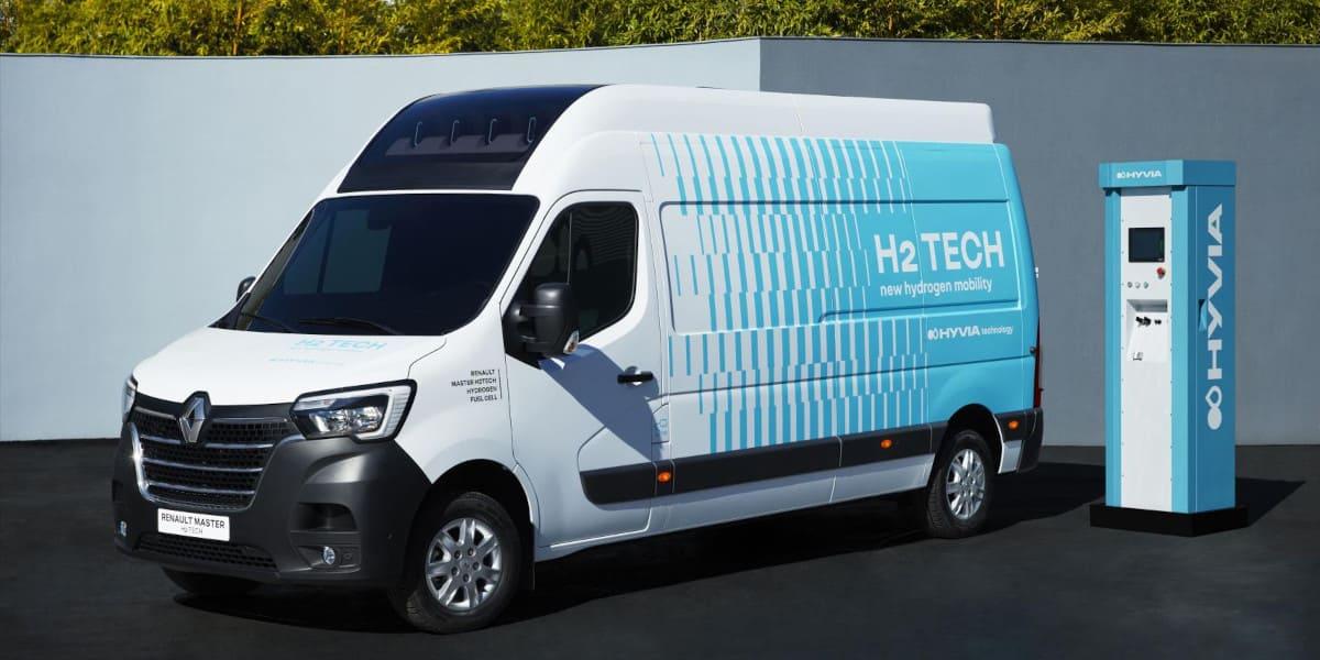 Renault: Hyvia zeigt Master Kastenwagen H2-Tech