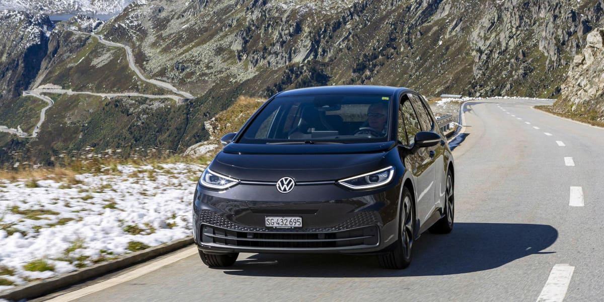 VW ID.3: Über 15 Pässe kann er gehen